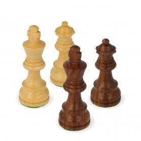 Klassische Schachfiguren aus Palisanderholz