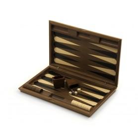 Backgammon aus Holz von Hand eingelegt